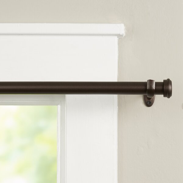 Curtains Ideas 140 inch curtain rod : Curtain Rods & Accessories You'll Love | Wayfair