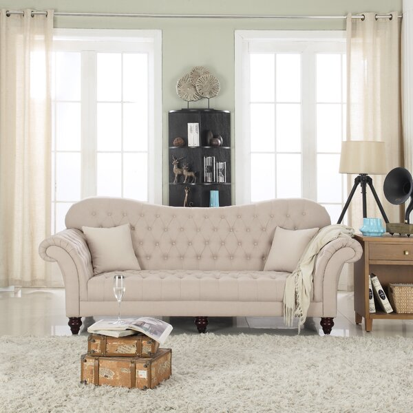 Madison Home USA Classic Tufted Victorian Sofa & Reviews