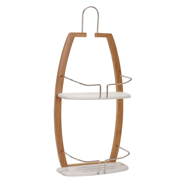Exellent Plastic Hanging Shower Caddy Reviews Wayfair B Throughout Inspiration