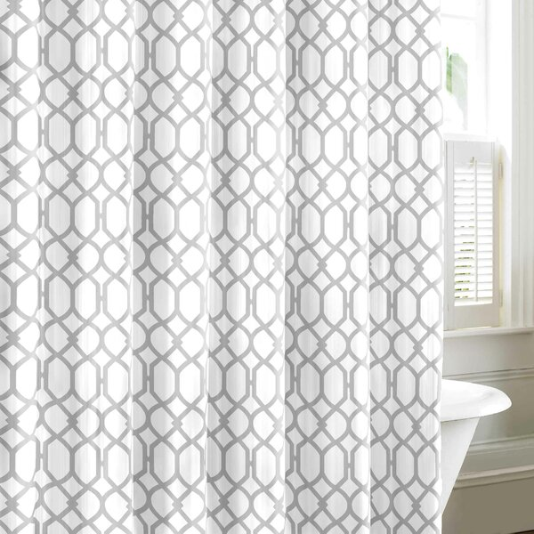 Shower Curtains cotton shower curtains : Tommy Bahama Bedding Shoretwon Trellis Cotton Shower Curtain ...