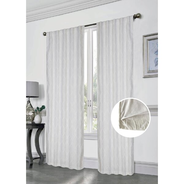 Dainty Home Anastasia Innovative Blackout Curtain Panel & Reviews ...