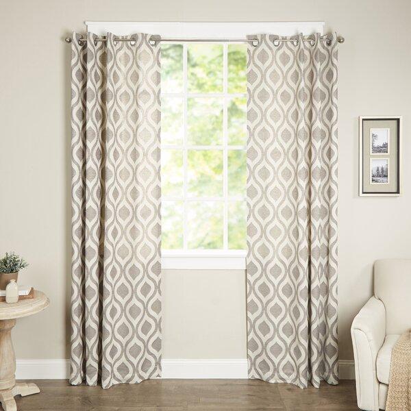Curtains Ideas curtains madison wi : Madison Park Verona Single Curtain Panel & Reviews | Wayfair