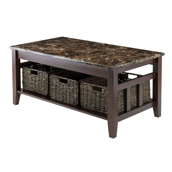 QUICK VIEW. Vida Coffee Table - Marble/Granite-Top Coffee Tables You'll Love Wayfair