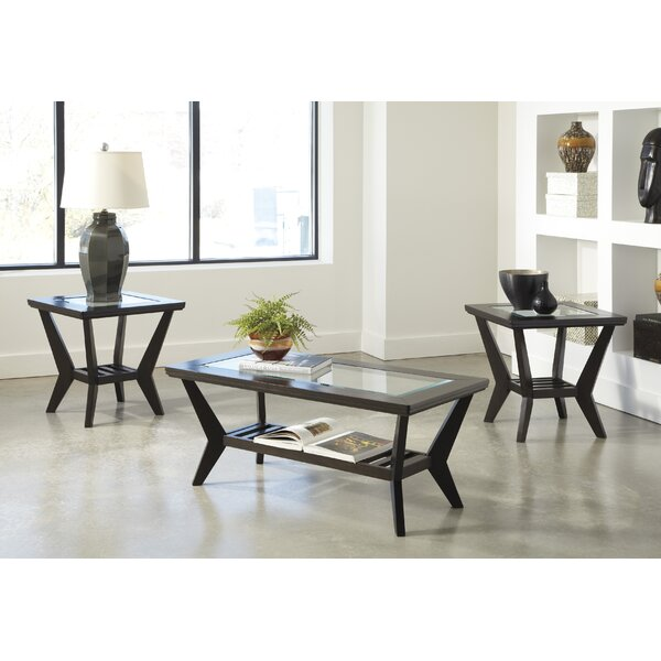 QUICK VIEW. Woodrow 3 Piece Coffee Table Set ... - Coffee Table Sets You'll Love Wayfair