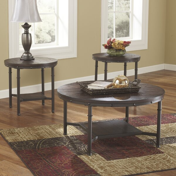Loon Peak Blake 3 Piece Coffee Table SetReviewsWayfair