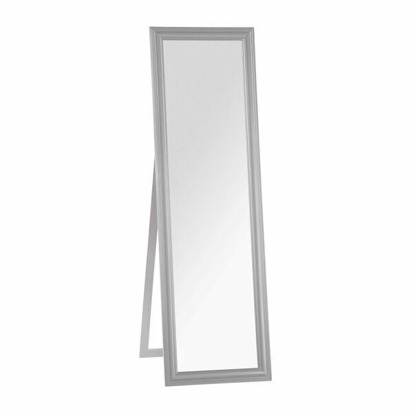Grey cheval floor mirrors for Gray full length mirror