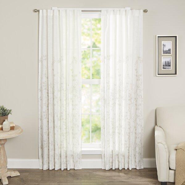 Curtains Ideas curtains madison wi : Madison Park Tunisia Single Curtain Panel & Reviews | Wayfair