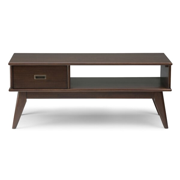 Draper Mid Century Coffee Table - Mid-Century Modern Coffee Tables You'll Love Wayfair
