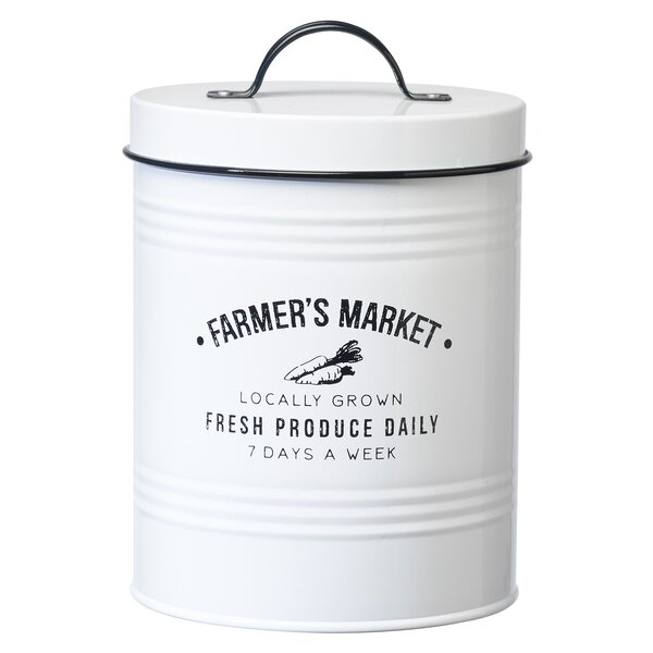Quick Trip Kitchens: Global Amici Farmers 2.38 Qt. Kitchen Canister & Reviews