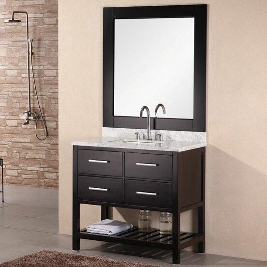 "Red Barrel Studio® Halcomb 36"" Single Bathroom Vanity ... - Red Barrel Studio Halcomb 36"