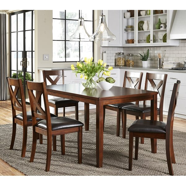 7 piece kitchen dining room sets youll love wayfair - Dining Room Furniture Chairs