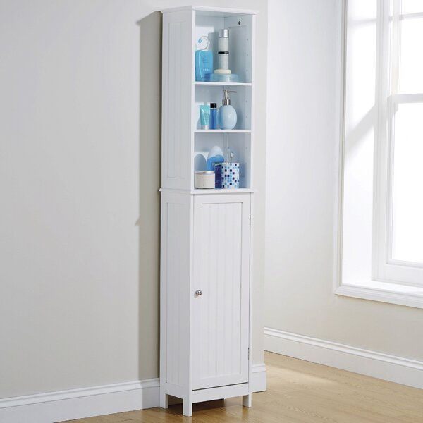 freestanding tall bathroom cabinet bathroom cabinets amp shelving wayfair co uk 18433