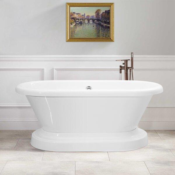 60 x 30 freestanding tub. Vinnova Ischia 60 X 30 Freestanding Soaking Bathtub Tub  Home Design Mannahatta us