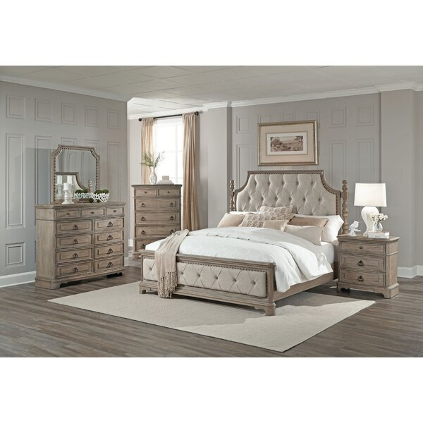 One allium way pennington panel 5 piece bedroom set for R way bedroom furniture