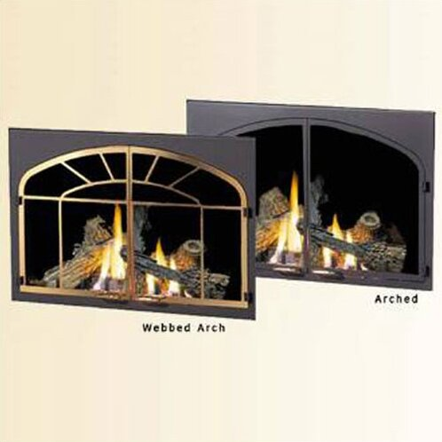 napoleon decorative fireplace door kit wayfair - Decorative Fireplace