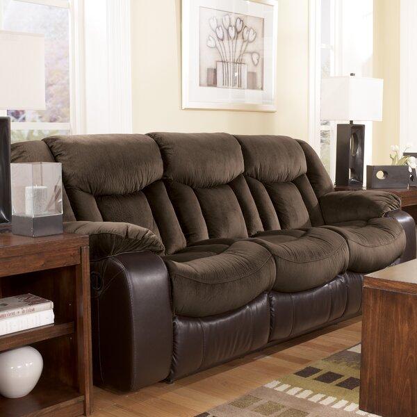 Ashley Furniture Bay Area: Signature Design By Ashley Bay Reclining Sofa & Reviews