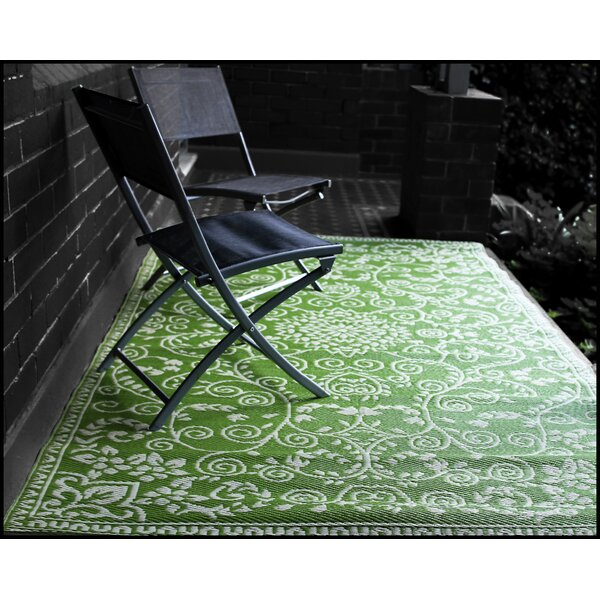 World Murano Lime Green Indoor Outdoor Area Rug