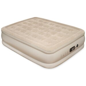 Pure Comfort Queen Raised Air Mattress with Built in Pump by Pure Comfort