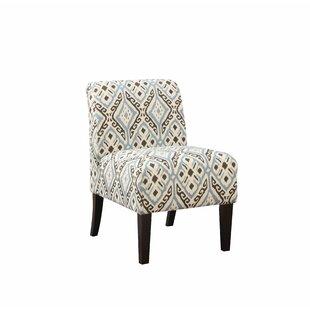 Tekoa Slipper Chair by Ebern Designs