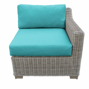 TK Classics Coast Patio Chair with Cushions