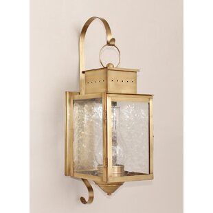 Wildes 1-Light Outdoor Wall Lantern by Br..