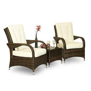 3-tlg. Sofa-Set mit Polster von Hokku Designs