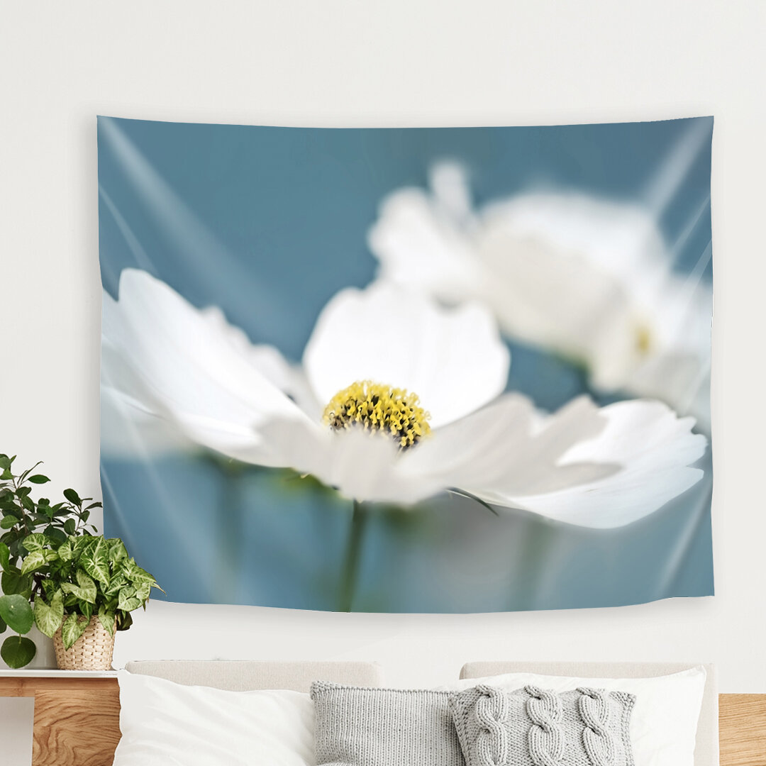 East Urban Home Mirja Paljakka Cosmos Flowers Tapestry Wayfair