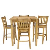 Weinberg 5 Piece Pub Table Set by Red Barrel Studio®