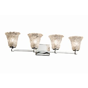 Reviews Kelli 4-Light Vanity Light By Darby Home Co