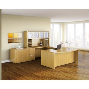 Mayline Group Aberdeen Executive Desk with Hutch