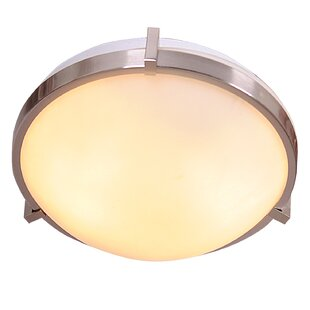 Mercer41 Kersey 2-Light Flush Mount
