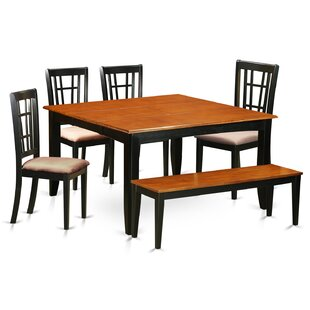 August Grove Pilning 6 Piece Extendable Dining Set