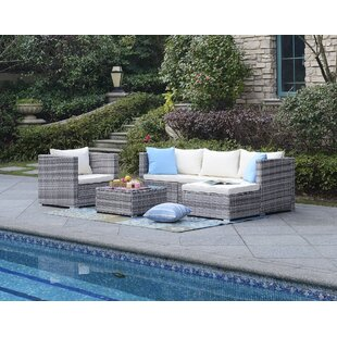 Augusta 6 Piece Sectional with Cushions