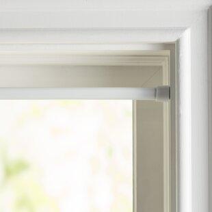 Wayfair Basics Oval Spring Tension Single Curtain Rod