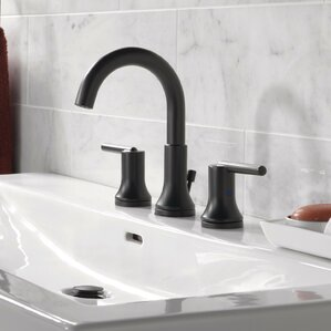 faucets bathroom. Trinsic  Bathroom Widespread Double Handle Faucet with Drain Assembly and Diamond Seal Technology Faucets You ll Love Wayfair