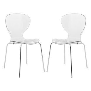 Oyster Dining Chair (Set Of 2) by LeisureMod Design