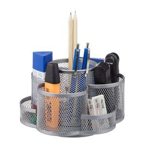 Schreibtisch Organizer Stoff Metall Zum Verlieben Wayfair De