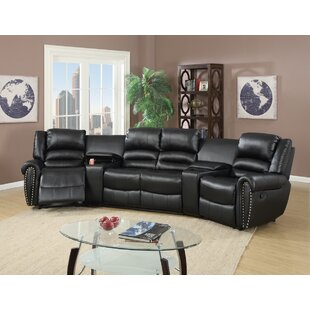Red Barrel Studio Home Theater Sectional