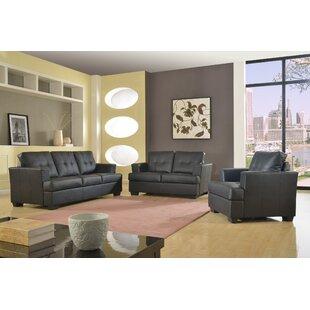 Granda 3 Piece Living Room Set by Star Home Living Corp