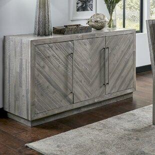 Varya 3 Door Wooden Sideboard by Bungalow Rose