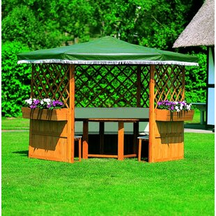 Marburg 2m X 2m Solid Wood Permanent Gazebo By Sol 72 Outdoor