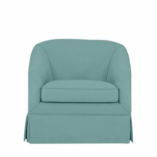 Great Price Clipper Swivel Barrel Chair by Latitude Run Reviews (2019) & Buyer's Guide