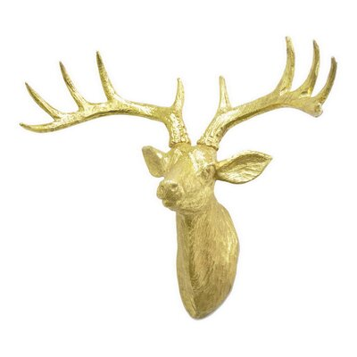 Outstanding Silver Deer Head Wall Decor Collection - Wall Art ...