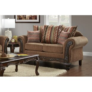 Duclos Loveseat by Astoria Grand Great price