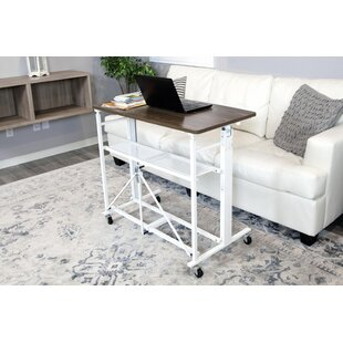 Hassen Adjustable Standing Desk by Symple Stuff Discount