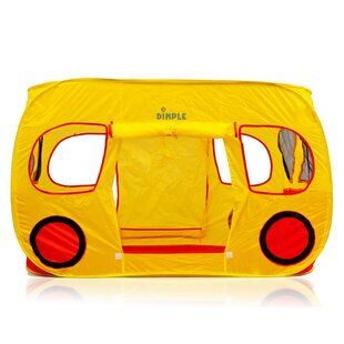 Dimple Children Red and Yellow Pop-Up Play Tent