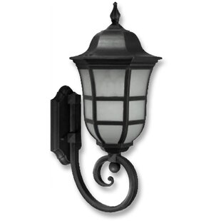 Handover 1-Light Outdoor Wall Lantern by Charlton Home