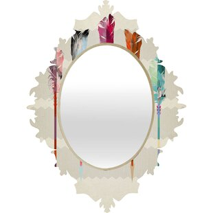 East Urban Home Feathered Arrows Baroque Accent Mirror