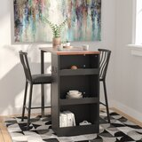 Francis 3 Piece Counter Height Pub Table Set by Red Barrel Studio®