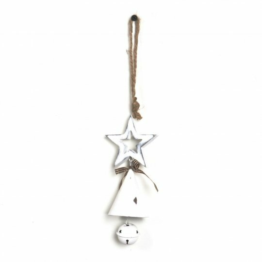 The Holiday Aisle Metal Bell Star Holiday Shaped Ornament Wayfair